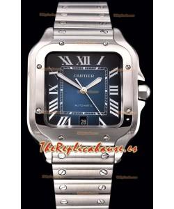 Cartier Santos De Cartier XL Reloj Réplica a Espejo 1 :1 - 40MM Caja de Acero Inoxidable