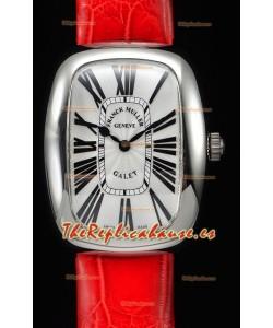 Franck Muller Galet Ladies Reloj Réplica de Cuarzo Suizo