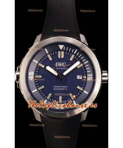IWC Aquatimer Automatic Expedition Jacques-Yves Costeau Swiss Reloj Réplica a Espejo 1:1