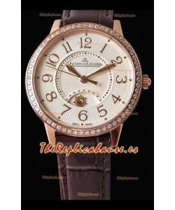 Jaeger-LeCoultre Rendez-Vous Rose Gold Night & Day Medium Reloj Suizo a Espejo 1:1