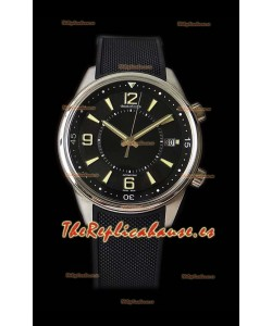 Jaeger LeCoultre Polaris Memovax Correa de Goma Reloj Réplica a Espejo 1:1