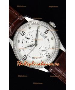 Jaeger LeCoultre Master Control Reloj Réplica Suizo Acero Inoxidable