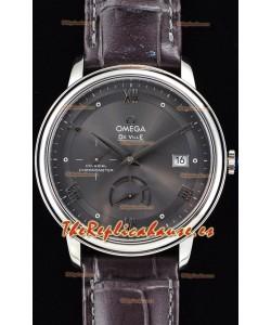 Omega Co-Axial Prestige Power Reserve Reloj Suizo de Acero Inoxidable