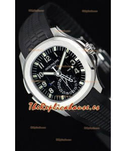 Patek Philippe Aquanaut 5164A Reloj a Espejo 1:1 Dial Negro