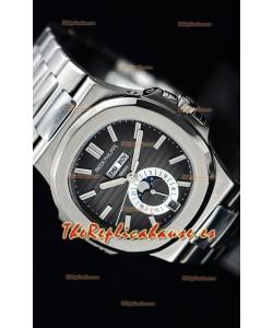 Patek Philippe Nautilus 5726A Reloj Suizo a Espejo 1:1 Dial Gris