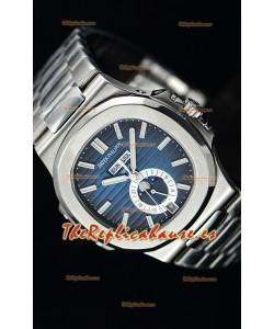 Patek Philippe Nautilus 5726A Reloj Suizo a Espejo 1:1 Dial Azul
