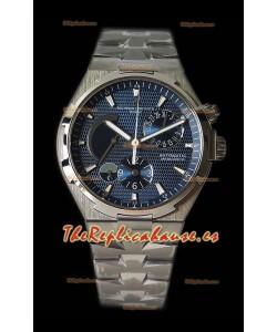Vacheron Constantin Overseas Dual Time Dial Azul Reloj Suizo