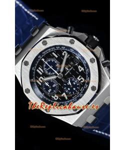 """Audemars Piguet Royal Oak Offshore Chronograph """"The Real Batman""""  Reloj de Acero 904L Réplica a Espejo 1:1"""
