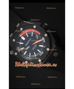 Audemars Piguet Royal Oak Offshore Reloj Suizo de Cerámica Buzo Scuna, Movimiento 3120 escala 1:1