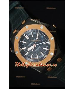 Audemars Piguet Royal Oak Diver Ember Edición Limitada Réplica Espejo 1:1, Movimiento 3120