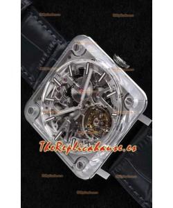 Bell & Ross BR X2 Tourbillon Micro-Rotor Reloj Réplica Suizo a escala 1:1