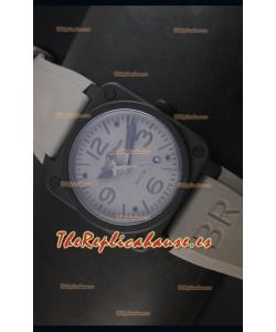Bell & Ross BR03-92 Reloj Replica Suizo Dial Gris