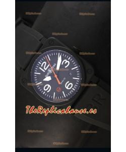 Bell & Ross BR03-92 Reloj Suizo Replca en Negro Edición Limitada