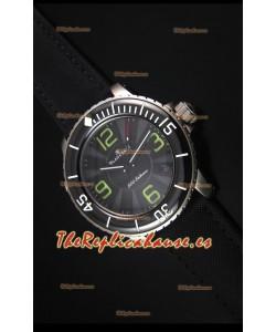Blancpain 500 Fathoms Reloj Replica Suiza con Dial Gris - Edicion Escala Espejo 1:1