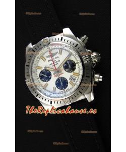 Breitling Chronomat Airborne Dial Blanco Reloj Réplica a Espejo 1:1