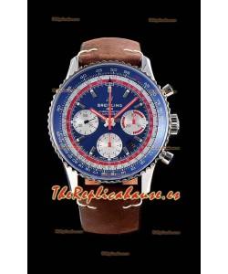 Breitling Navitimer 1 B01 Chronograph PAN AM Edition 43MM - Reloj Réplica a Espejo 1:1