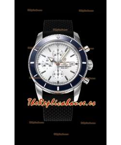 Breitling SuperOcean Heritage II 44MM Dial Blanco Reloj Réplica Suizo