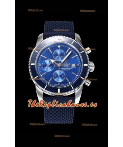 Breitling SuperOcean Heritage II 44MM Dial Azul Reloj Réplica Suizo