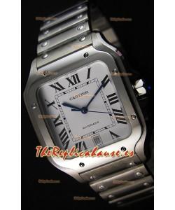 Cartier Santos De Cartier Reloj Réplica a Espejo 1:1 - Reloj de Acero Inoxidable 40MM