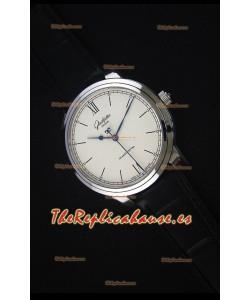 Glashuette Senator Excellence Dial color Crema, Caja de Acero Reloj Replica Suizo