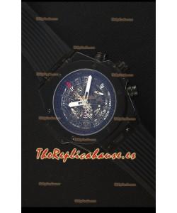 Hublot Big Bang Unico All Black Sapphire Reloj Replica de Cuarzo 45MM
