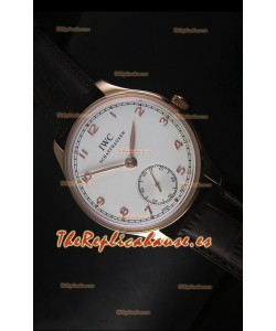 IWC Portugieser IW545409 Reloj Suizo de Oro Rosado, Replica a escala 1:1