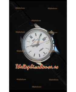 IWC Ingenieur Automatic Reloj Suizo Edición Limitada Dial Blanco Replica a Escala 1:1