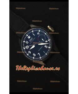 IWC Big Pilot's Top Gun Watch - Reloj Replica Suizo a Espejo 1:1 Versión Actuaizada al 2017 REF# IW502001