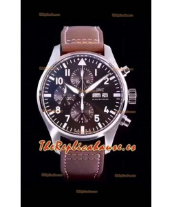 IWC Pilot's Chronograph IW377713 Antoine De Saint Exupéry Reloj Réplica a Espejo 1: Acero 904L