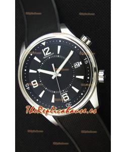 Jaeger-LeCoultre Polaris Reloj Réplica a espejo 1:1 Dial Negro con Correa de Nylon