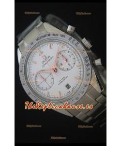 Omega Speedmaster 57 Co-Axial Reloj Cronógrafo Suizo con Marcadores en Oro Rosado