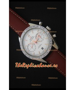 Omega Speedmaster 57 Co-Axial Reloj Cronógrafo con Correa de Piel color Marrón