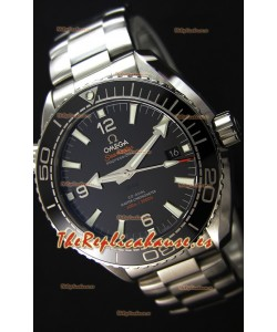 Omega Seamaster Planet Ocean 600M Dial Negro 43.5MM Reloj Réplica a Espejo 1:1 Suizo Actualizado