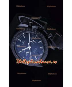 Omega Speedmaster Dark Side of the Moon Ceramic Case Reloj Réplica a Espejo 1:1 Dial Negro