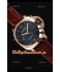 Panerai Luminor Marina PAM393 42MM Reloj Replica Suizo Oro Rosado