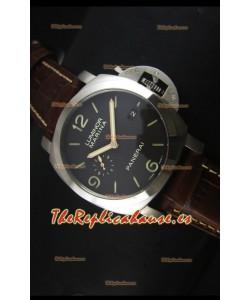 Panerai Luminor Marina Titanium PAM351 Reloj Suizo Replica a Escala 1:1