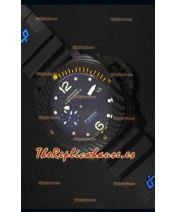 Panerai Luminor Submersible Carbotech Reloj Replica Japonés