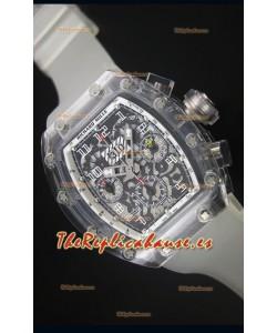 Richard Mille RM056-1 Tourbillon Felipe Massa Reloj Cronógrafo Bisel color Blanco