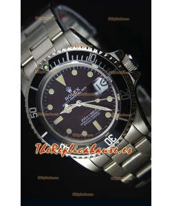 Rolex Submariner 1680 Edición Vintage Dial color Café Reloj Replica Suizo a Espejo 1:1