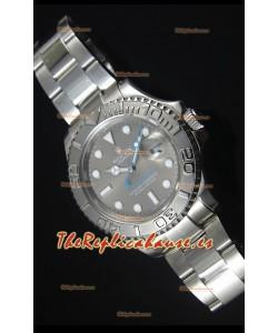 Rolex Yachtmaster Dial Gris Reloj Replica Suizo escala 1:1