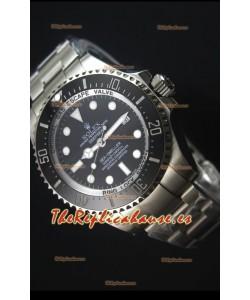 Rolex Sea-Dweller Deepsea 116660 Reloj Suizo Mejor Edición de 2017 a Espejo 1:1