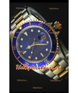 Rolex Submariner 16613 Reloj Replica Suiza 1:1 en Dos Tonos con Movimiento Suizo 3135