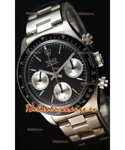 Rolex Daytona Vintage REF 6264 Reloj Réplica Suizo- Reloj de Acero 904L