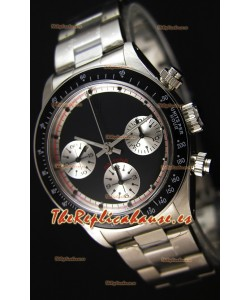 Rolex Daytona Paul Newman Blacked out Reloj Réplica Suizo- Reloj de Acero 904L