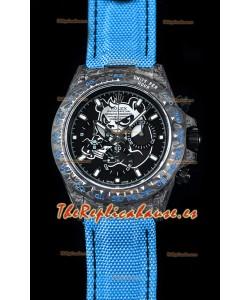 Rolex Daytona CHRONUSART Caja de Carbón forjado, Réplica a Espejo 1:1, Dial Multicolor