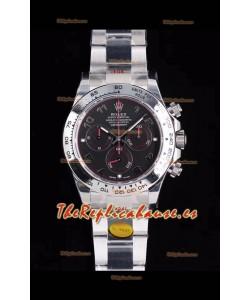 Rolex Daytona 116509 Reloj de Acero 904L a espejo 1:1 - Oro Blanco Movimiento Original Cal.4130