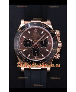 Rolex Daytona 116515LN-0041 Movimiento Original Cal.4130 Oro Everose - Reloj de Acero 904L a Espejo 1:1