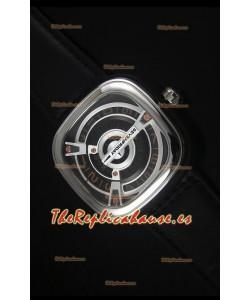 SevenFriday M2-2 Movimiento Miyota 8215 Reloj de Acero Inoxidable