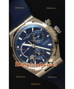 Vacheron Constantin Overseas Dual Time Reloj Réplica Suizo Dial Azul