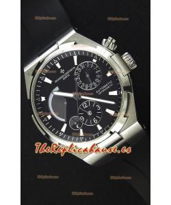 Vacheron Constantin Overseas Dual Time Reloj Réplica Suizo Dial Negro